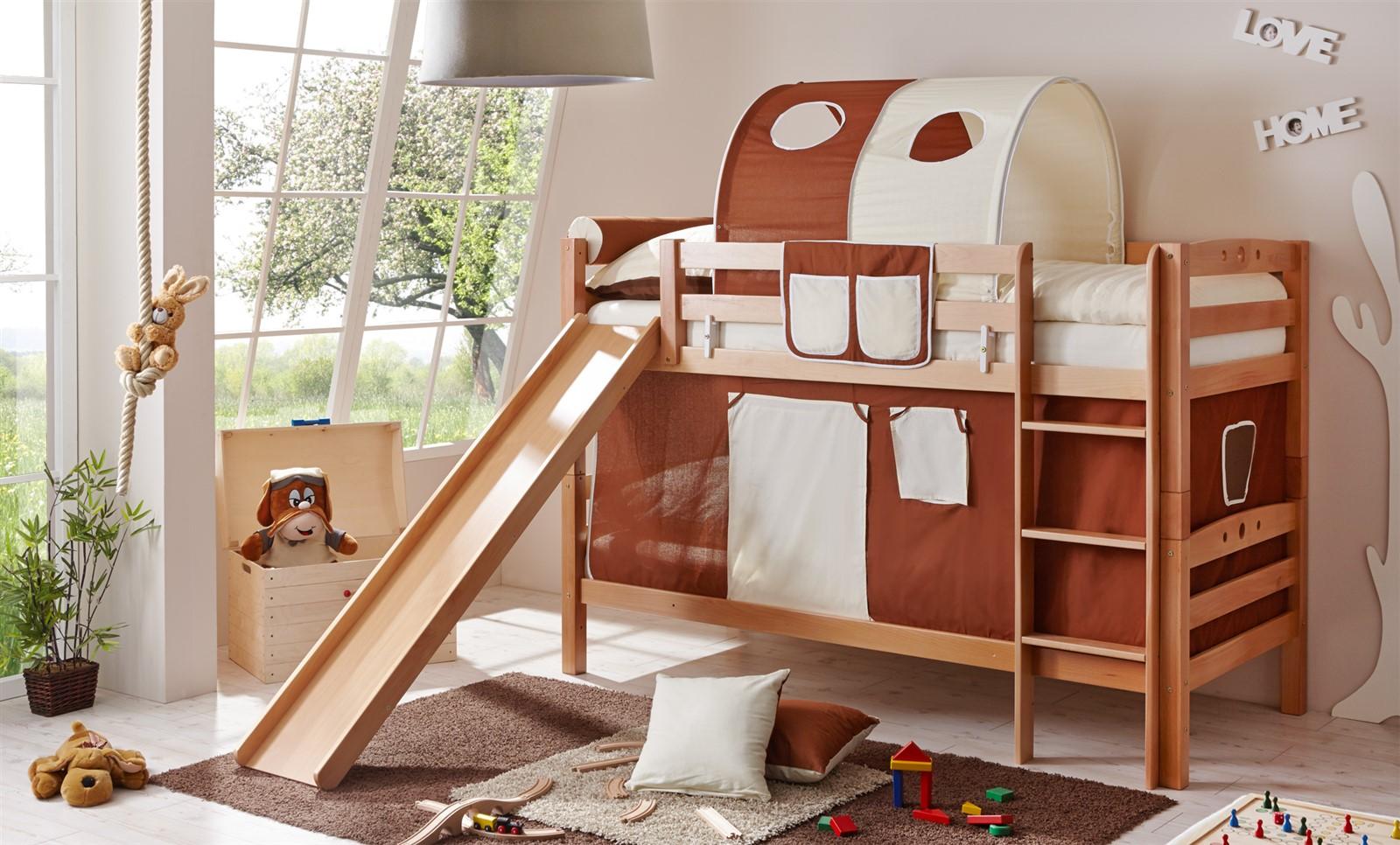 Etagenbett Buche Extra : Hochbett etagenbett oli 2 buche massiv extra hoch ebay
